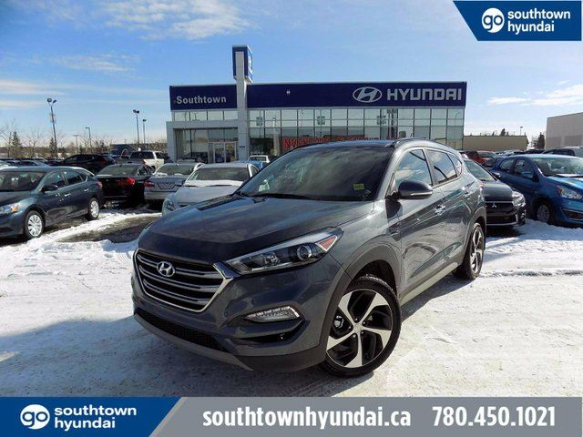 2017 HYUNDAI Tucson SE 1.6TURBO/PANO ROOF/LEATHER/BLIND SPOT in Edmonton, Alberta