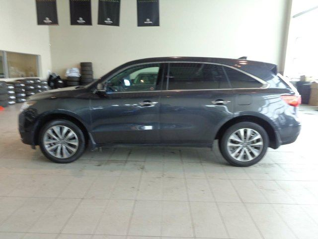 2016 ACURA MDX NAVI - Heated Leather Seats, B/U Cam, Sunroof, Remote Start, Nav in Red Deer, Alberta