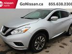2017 Nissan Murano SV: WITH FORWARD EMERGENCY BRAKING, HEATING STEERING WHEEL, SUNROOF, NAVIGATION. in Edmonton, Alberta
