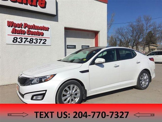 2015 Kia Optima EX in Winnipeg, Manitoba
