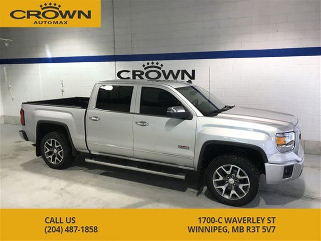 2014 GMC SIERRA 1500 SLT ALL TERRAIN CREW CAB **Tonneau Cover** Heated in Winnipeg, Manitoba