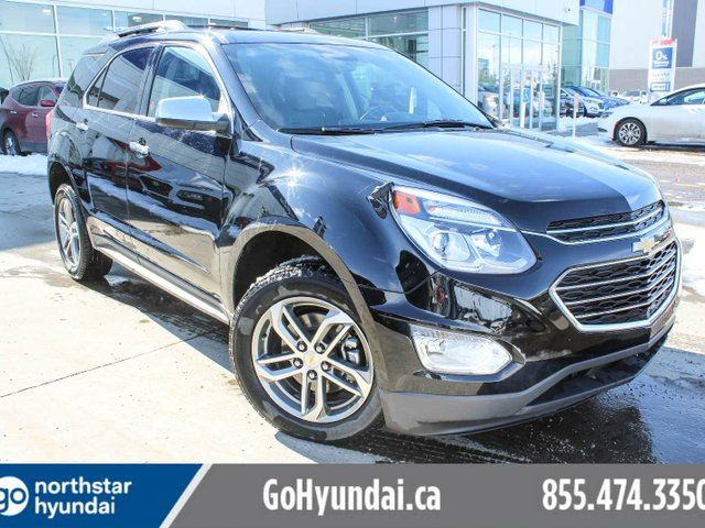 2017 CHEVROLET EQUINOX LEATHER/NAV/LANEDEPART/COLLISONWARNING/SUNROOF in Edmonton, Alberta