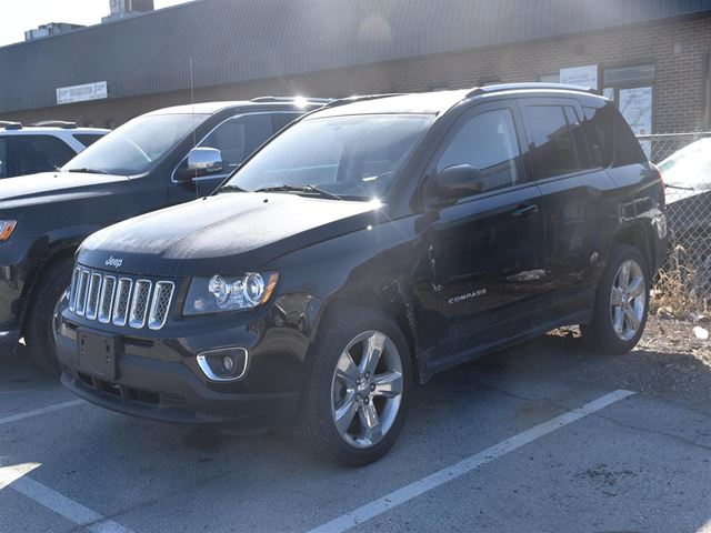 2014 JEEP COMPASS Limited NAVIGATION, LEATHER, SUNROOF, ONLY 30,0 in Concord, Ontario