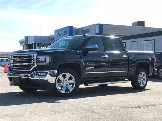 2017 GMC SIERRA 1500 SLT, LEATHER, NAVIGATION, CREW, NO ACCIDENTS in Newmarket, Ontario