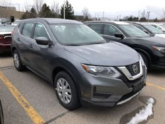 2018 NISSAN ROGUE S FWD 2.5L 4CYLINDER AUTOMATIC in Mississauga, Ontario