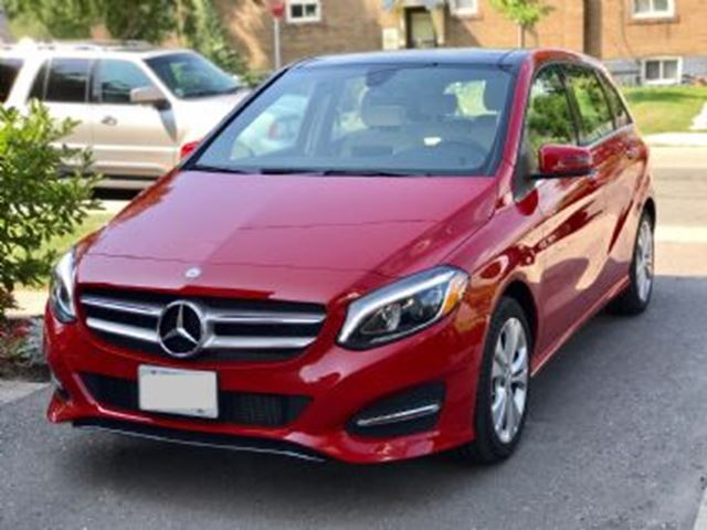 2017 MERCEDES-BENZ B-CLASS 250 4Matic AWD in Mississauga, Ontario