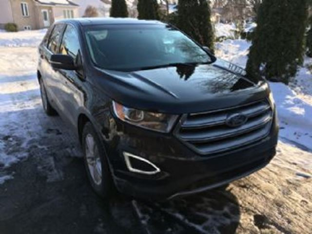 2017 FORD EDGE SEL AWD Navi, Panoramic, Leather + + + in Mississauga, Ontario