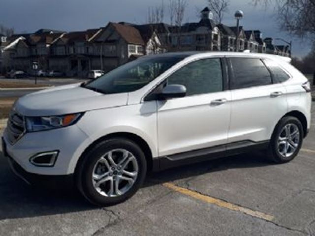 2017 FORD EDGE Titanium Package AWD in Mississauga, Ontario