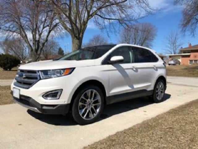 2015 FORD EDGE 4dr Titanium FWD with 301 A and 302 A in Mississauga, Ontario