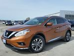 2017 Nissan Murano SL AWD w/all leather,NAV,panoramic roof,heated seats,rear cam,pwr group in Cambridge, Ontario