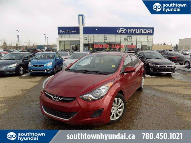 2013 HYUNDAI Elantra GL/SPD/HEATED SEATS/BLUETOOTH/POWER OPTIONS in Edmonton, Alberta