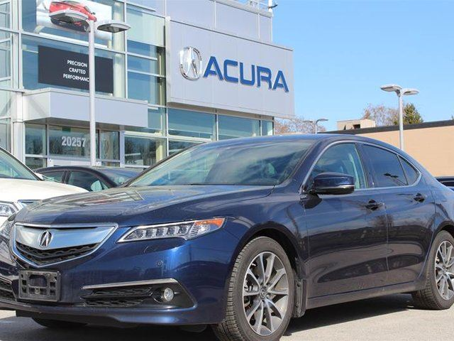2015 ACURA TLX 3.5L SH-AWD w/Elite Pkg in Langley, British Columbia