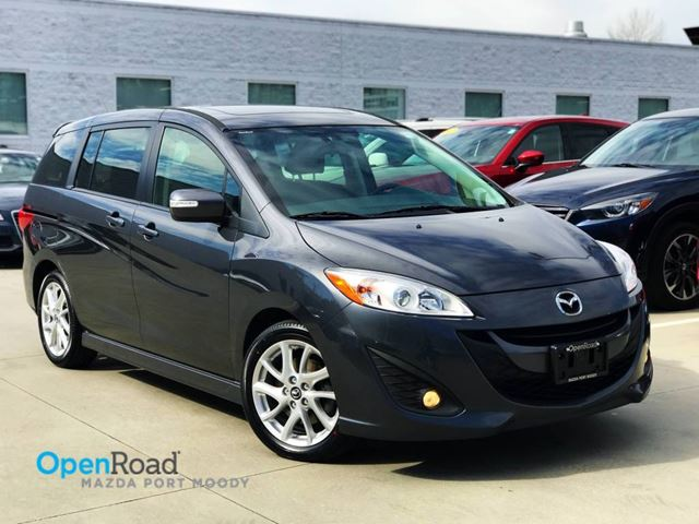 2014 MAZDA MAZDA5 GT A/T No Accident Local One Owner Bluetooth AU in Port Moody, British Columbia
