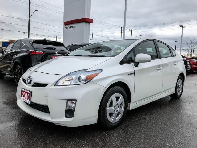 2010 TOYOTA PRIUS I ONE OWNER+DEALER SERVICED HYBRID! in Cobourg, Ontario