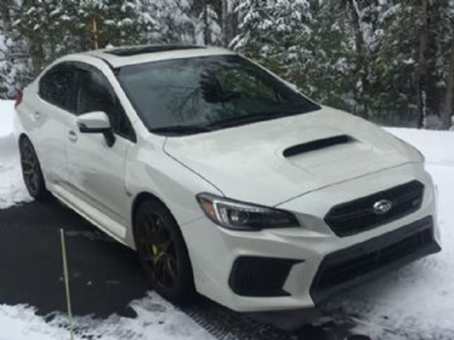 2018 SUBARU IMPREZA STi Sport-tech Manual w/Lip Spoiler in Mississauga, Ontario