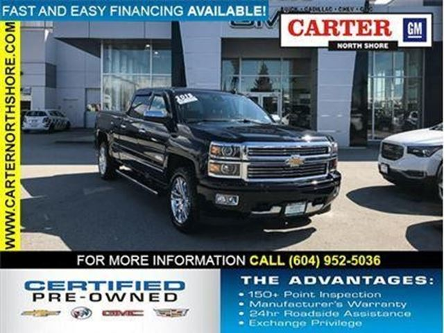 2015 CHEVROLET SILVERADO 1500 High Country in North Vancouver, British Columbia