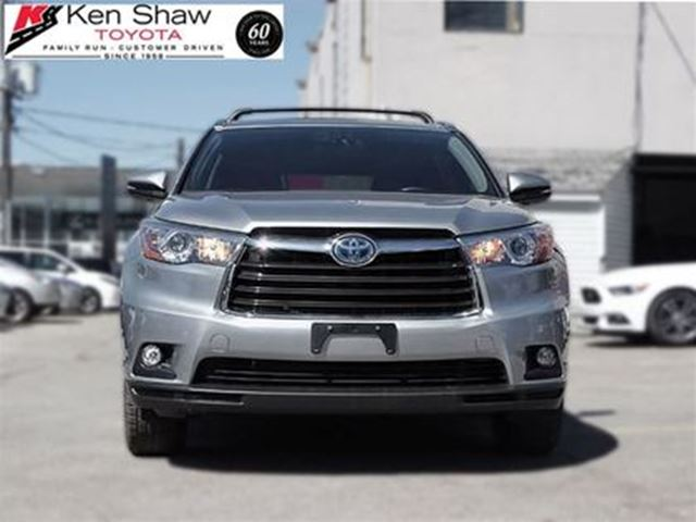 2015 TOYOTA Highlander Limited BACK UP CAMERA NAVIGATION in Toronto, Ontario
