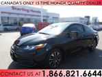 2014 Honda Civic EX COUPE | LOW PRICE | HONDA PLUS WARRANTY | TINT | ALL WEATHER MATS | NO ACCIDENTS in Hamilton, Ontario