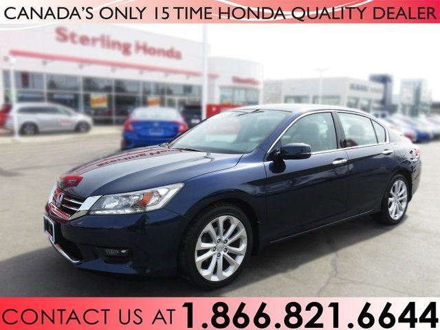 2014 HONDA Accord TOURING V6 | ALL WEATHER MATS | 1 OWNER in Hamilton, Ontario