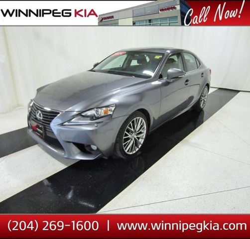 2014 LEXUS IS 250 - in Winnipeg, Manitoba