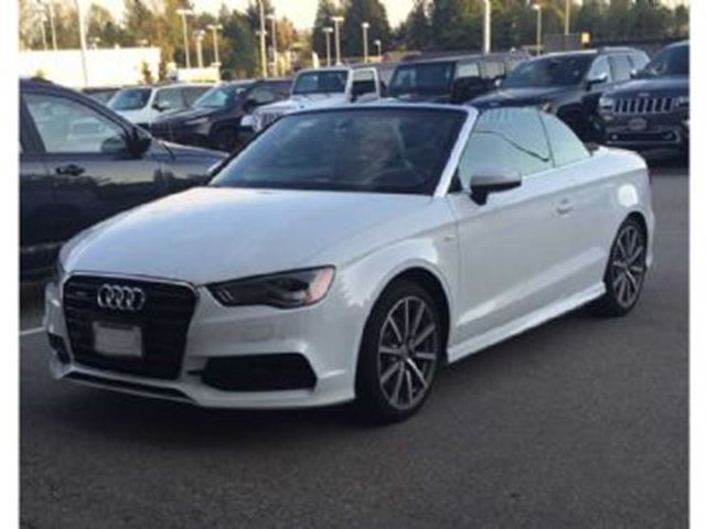 2016 AUDI A3 2dr Cabriolet quattro 2.0T Technik,S line package in Mississauga, Ontario