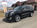 2017 Cadillac Escalade 4WD Premium Luxury, RSE, 8P, V8, XS Wear in Mississauga, Ontario