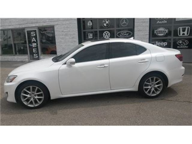 2012 LEXUS IS 250 navigation camera premium sound sunroof in Guelph, Ontario