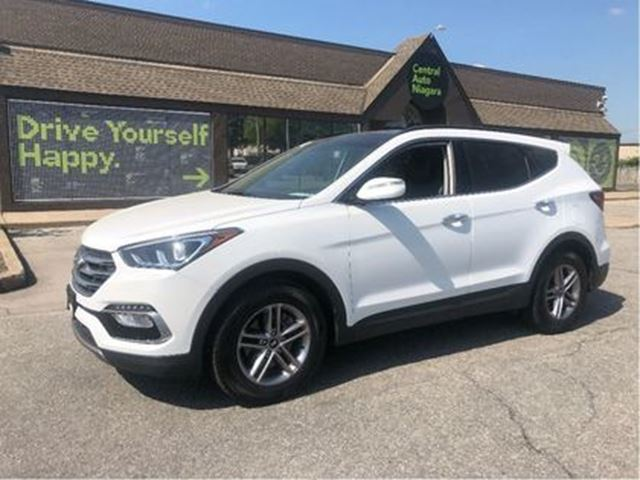 2018 HYUNDAI SANTA FE SE / AWD / LEATHER / SUNROOF in Fonthill, Ontario