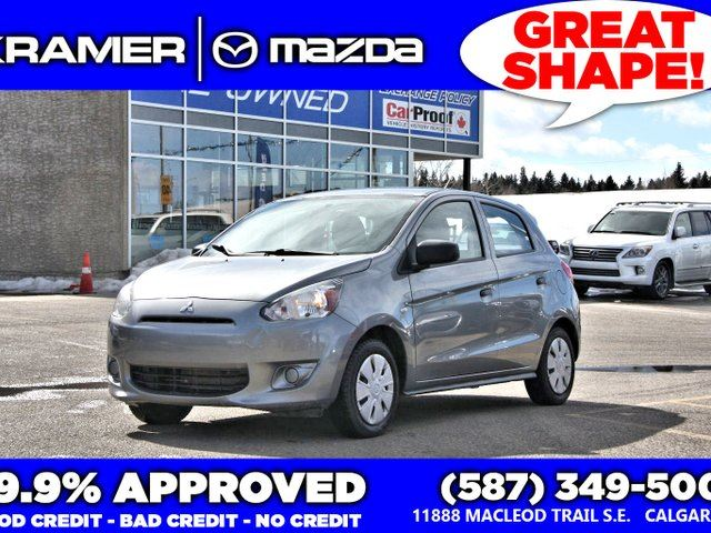 2015 MITSUBISHI MIRAGE ES w/Bluetooth in Calgary, Alberta