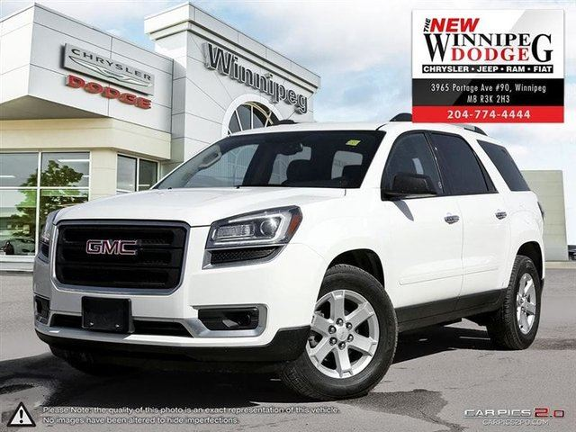 2014 GMC ACADIA SLE in Winnipeg, Manitoba