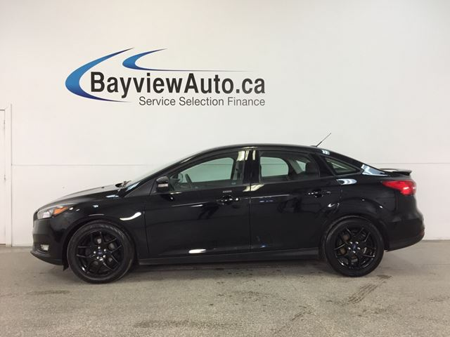2016 FORD FOCUS SE- 5 SPEED|ALLOYS|ROOF|HTD STS|A/C|REV CAM|SYNC! in Belleville, Ontario