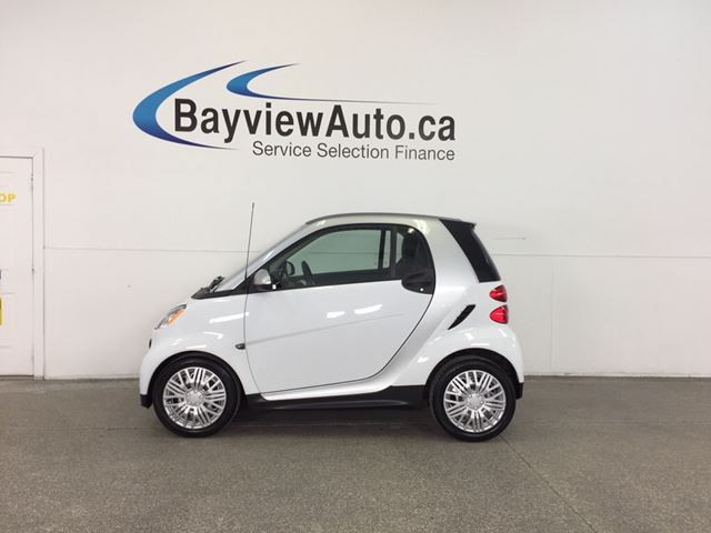 2013 SMART FORTWO PURE - KEYLESS ENTRY|LTHRETTE|A/C|BLUETOOTH! in Belleville, Ontario
