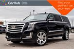 2017 Cadillac Escalade ESV Luxury 4x4 7 seater Navi Sunroof DVD Backup Cam Bluetooth Ventilated Front seats 22Alloy in Bolton, Ontario