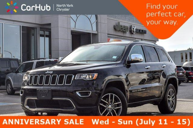 2017 JEEP Grand Cherokee Limited 4x4 Nav BackUpCam PkAsst. R-Start HeatSeats 18Alloys  in Thornhill, Ontario