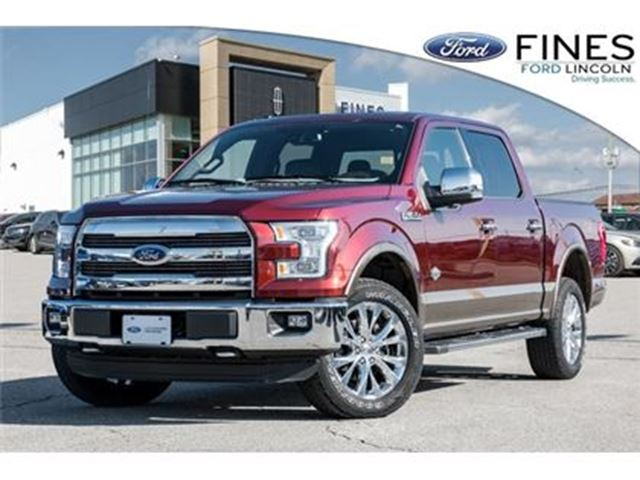 2015 FORD F-150 King Ranch - FORD CERTIFIED W/EXT WARRANTY & FINAN in Bolton, Ontario