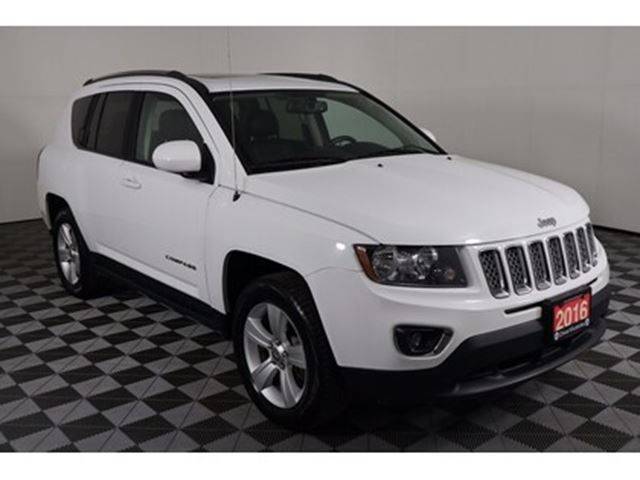 2016 Jeep Compass Sport, 2.4L 4CYL, 4x4, BLUETOOTH, BACK-UP CAM, HEA in Huntsville, Ontario