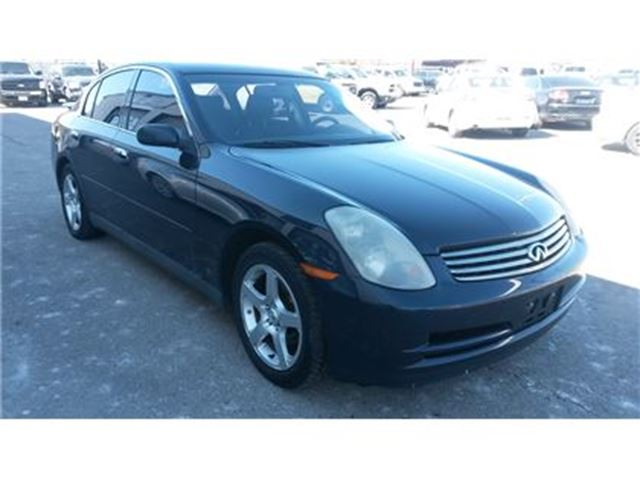 2003 INFINITI G35 Luxury in Guelph, Ontario