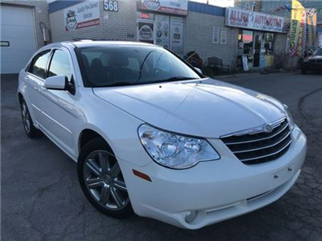 2010 CHRYSLER SEBRING Touring_Leather_Sunroof_Accident Free in Oakville, Ontario