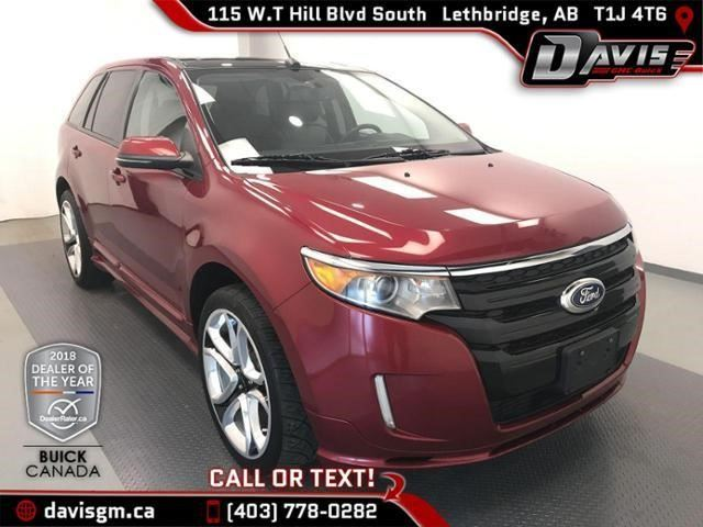 2013 FORD EDGE Sport in Lethbridge, Alberta