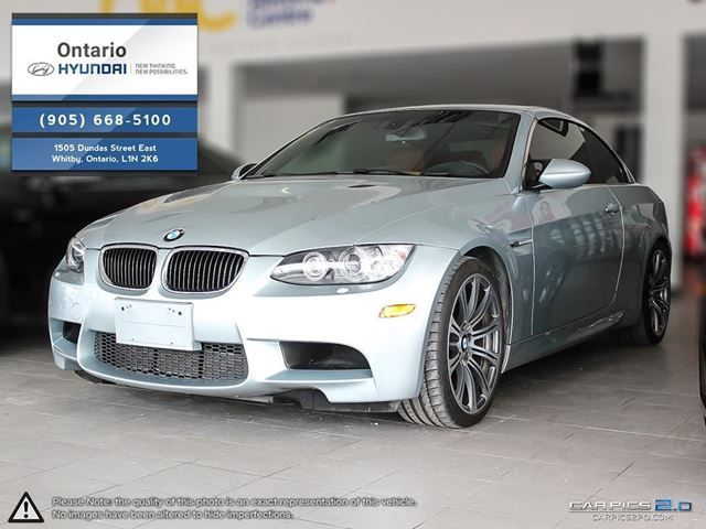 2013 BMW M3 CABRIOLET  WARRANTY + MAINTENANCE UNTIL 2020 in Whitby, Ontario
