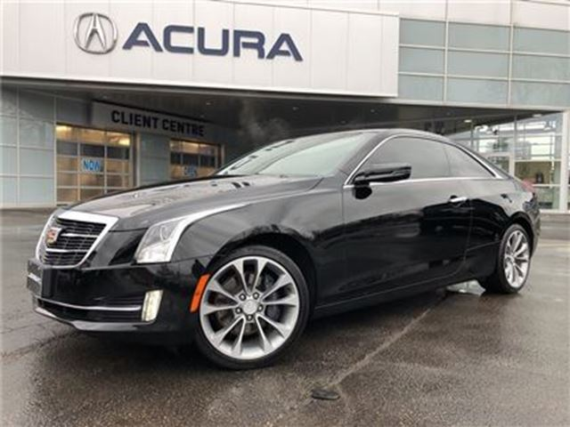 2015 CADILLAC ATS LUXURY   TURBO   NAVI   ONLY20000KMS   272HP in Burlington, Ontario