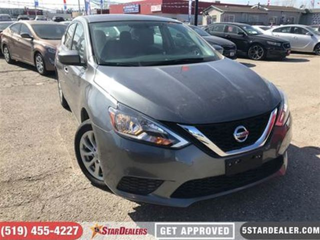 2017 NISSAN SENTRA 1.8 SV   ONE OWNER   ROOF   CAM in London, Ontario