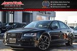 2018 Audi S8 Quattro Arras Red Pkgs Sunroof Night Vision Nav 21Alloys in Thornhill, Ontario