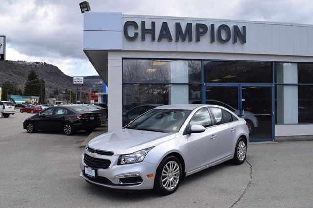 2015 Chevrolet Cruze ECO in Trail, British Columbia
