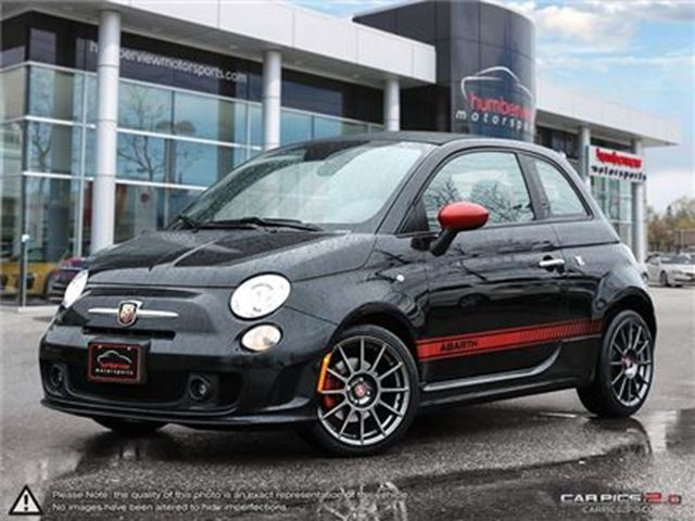 2013 FIAT 500 Abarth   CAR-PROOF CLEAN   ONE OWNER   NAVI   HEAT in Mississauga, Ontario