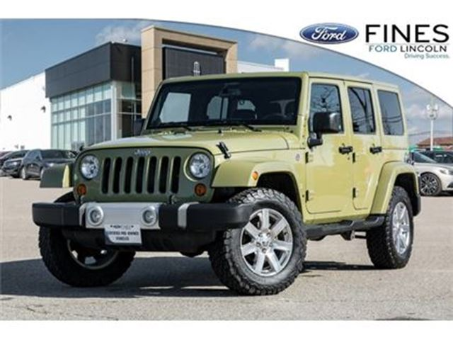 2013 JEEP Wrangler Unlimited Sahara - NAVIGATION, 2 ROOFS, HEATED SEATS! in Bolton, Ontario