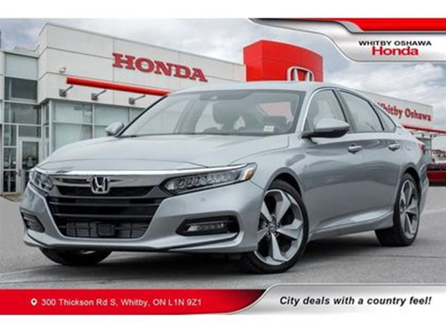 2018 HONDA Accord Touring 2.0T   Automatic   Sunroof, Navigation in Whitby, Ontario