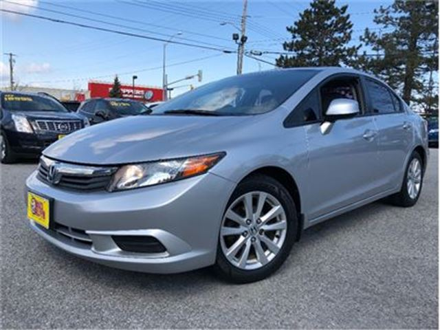 2012 HONDA CIVIC EX-L NAVIGATION LEATHER MOONROOF in St Catharines, Ontario