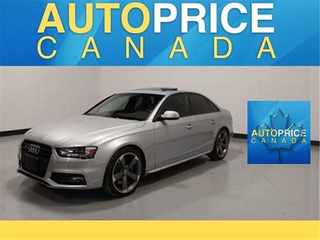 2015 AUDI S4 3.0T Technik PLUS NAVIGATION AND MORE in Mississauga, Ontario