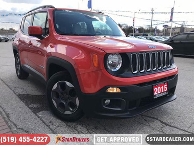 2015 JEEP RENEGADE North   ROOF   LOW KMS in London, Ontario